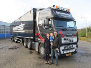 Nieuwe trailer BouwmeeNieuwe trailer Bouwmeester Transportster Transport   VB Trailerbouw
