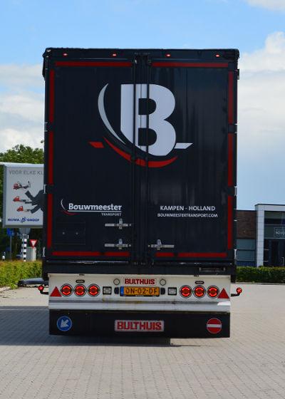 Logo Trailer Bouwmeester Transport Kampen Holland